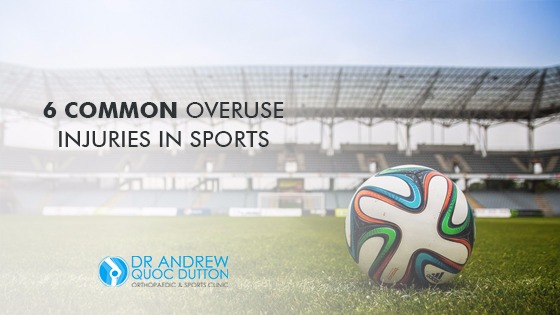 6 Common Overuse Injuries in Sports