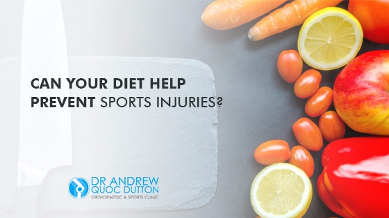 Can your Diet Help Prevent Sports Injuries