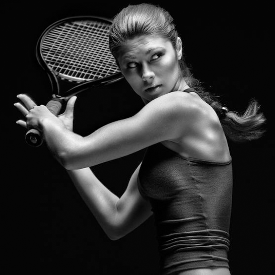 Sport Injuries - Woman Playing Tennis - Dr Andrew Dutton