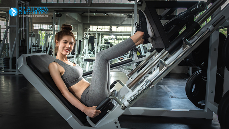 Leg Press Hip Pain Exercise