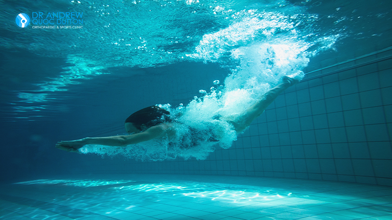 Swimming Hip Pain Exercise