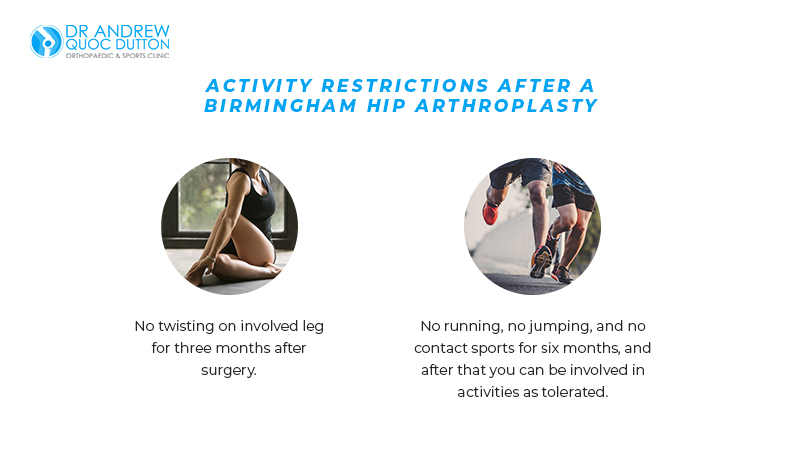 Activity Restrictions After A Birmingham Hip Arthroplasty