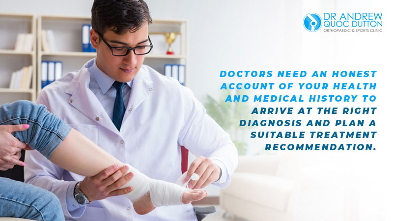 Dr Andrew Dutton Orthopaedic Clinic Singapore Diagnosis Treatment Recommendation