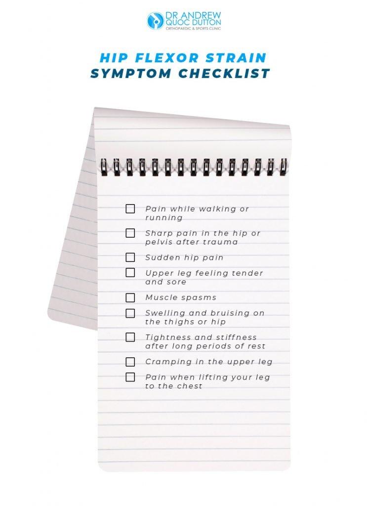dr andrew quoc dutton hip flexor strain symptom checklist